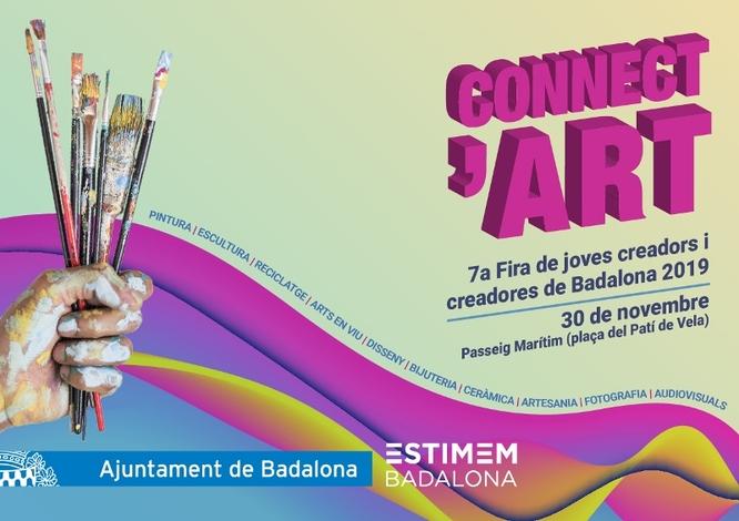 La 7a Fira de joves creadors i creadores de Badalona (Connect'ART) presenta dissabte les seves propostes al passeig Marítim