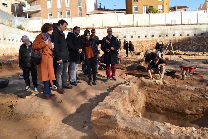 Badalona recupera part de la Via Augusta romana que travessava la ciutat