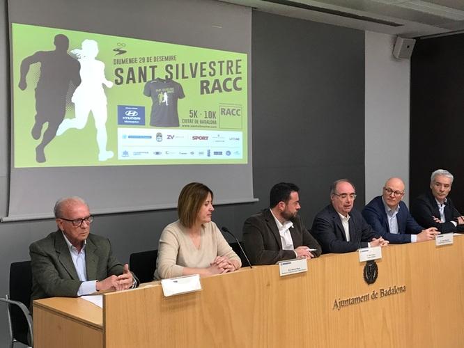 Diumenge 29 de desembre es correrà a Badalona la primera edició de la cursa de Sant Silvestre