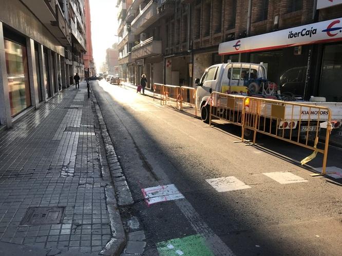 Millora urbana del carrer de la Riera d'en Matamoros entre el carrer de Francesc Layret i el carrer del Germà Juli