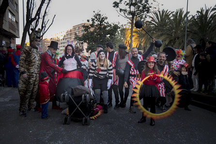 Festa de Carnaval a Badalona Sud