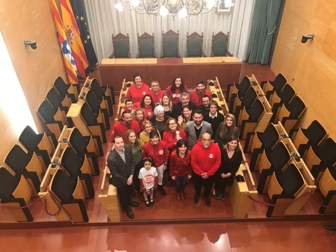 Badalona ret homenatge a la tasca humanitària dels voluntaris i voluntàries de Proactiva Open Arms