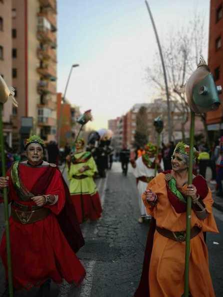 Rua de Carnestoltes al Manresà