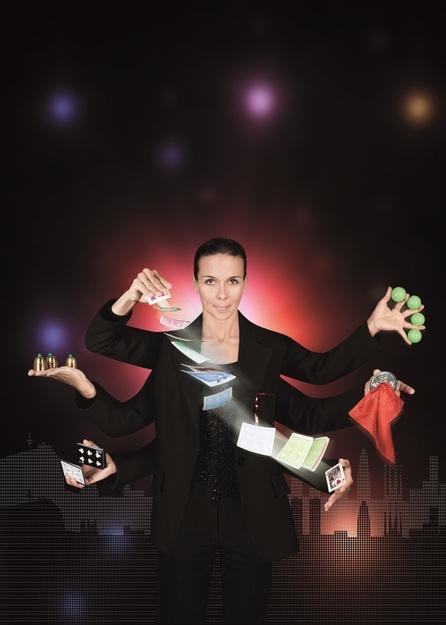 Actuació màgica: La Dama Inquieta