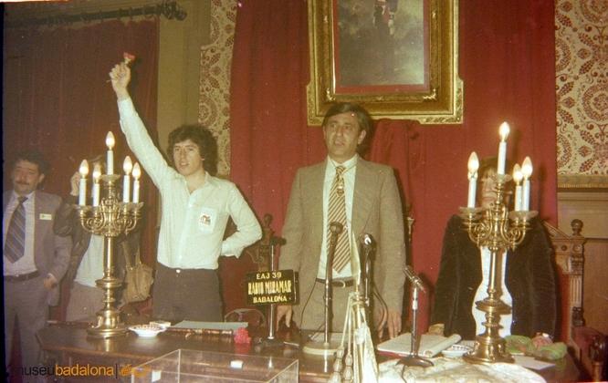 Badalona nomena fill adoptiu Màrius Díaz i Bielsa com a reconeixement a qui fou el primer alcalde democràtic de la ciutat després de la dictadura