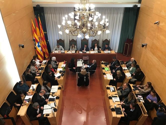 Resum dels acords del Ple de l'Ajuntament de Badalona del 25 de febrer de 2020