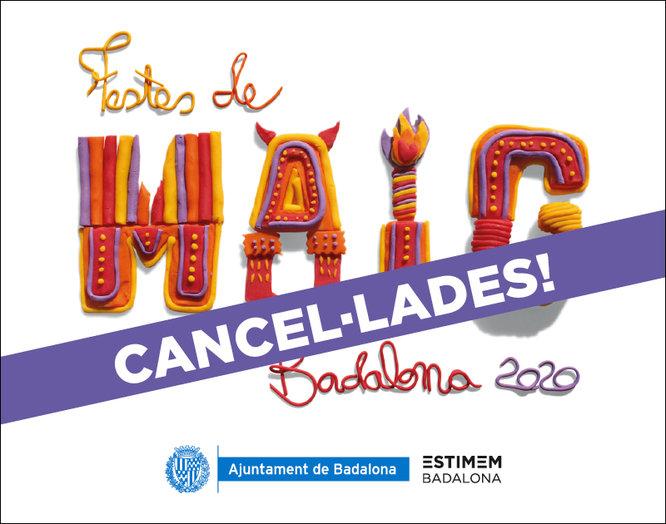 Badalona cancel.la les Festes de Maig de 2020 a causa de la situació d'emergència sanitària pel coronavirus