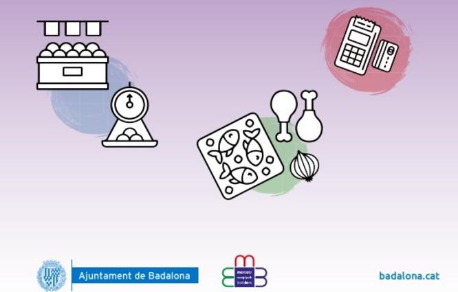 Els mercats municipals de Badalona continuen garantint el subministrament dels productes bàsics a tota la ciutadania