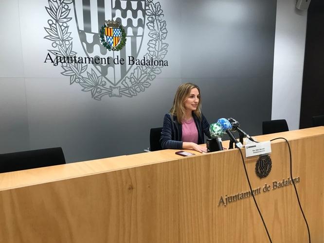 L'alcaldessa accidental de Badalona, Aïda Llauradó, anuncia que en un termini màxim de 10 dies, a partir de demà, el Ple prendrà coneixement de la dimissió d'Álex Pastor
