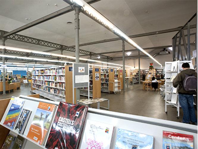 Adjudicades les obres de reparació de la climatització de la Biblioteca Central Urbana Can Casacuberta de Badalona