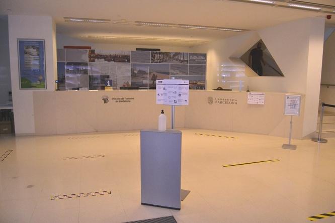 Aquest dimarts torna a obrir al públic l'Oficina de Turisme de Badalona