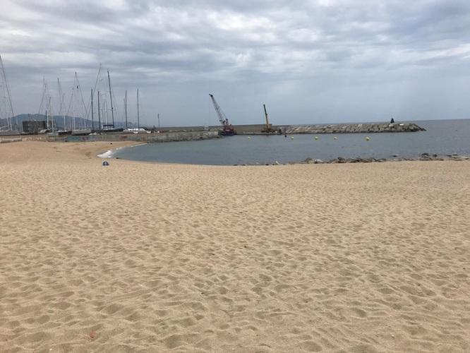 Badalona disposarà a partir del divendres, 17 de juliol, d'una nova platja