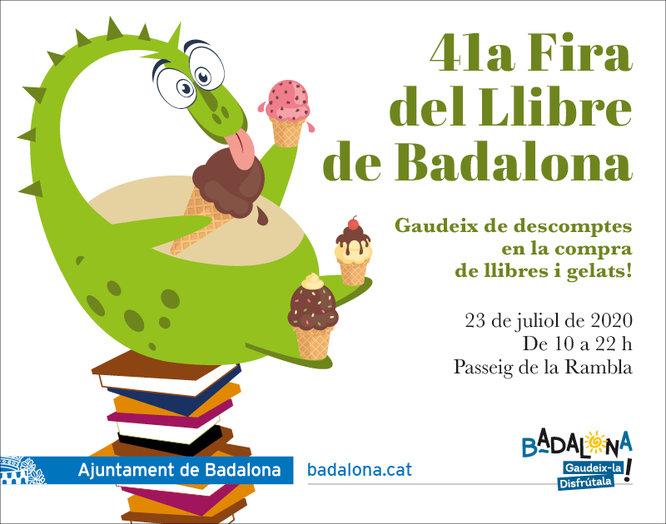 La 41a Fira del Llibre de Badalona tindrà lloc el dijous 23 de juliol al passeig de la Rambla