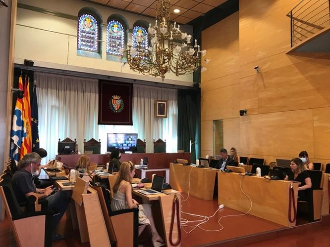 El dimarts 28 de juliol, sessió ordinària del Ple de l'Ajuntament de Badalona