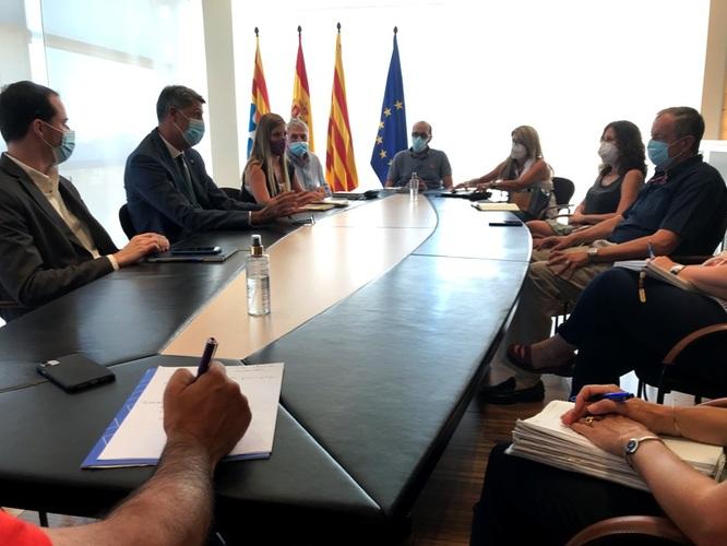 L'alcalde de Badalona recull les propostes dels representants dels centres educatius concertats de la ciutat per abordar l'inici del curs escolar