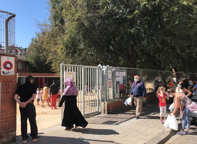 Tots els centres escolars de Badalona han iniciat amb normalitat el curs aquest dilluns