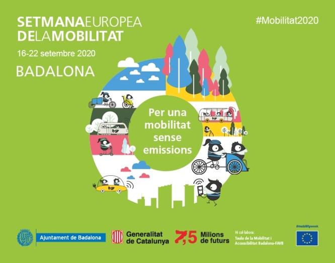 Badalona se suma a la celebració de la Setmana Europea de la Mobilitat