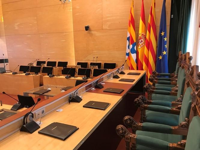 El dilluns 21 de setembre, sessió extraordinària i urgent de l'Ajuntament de Badalona