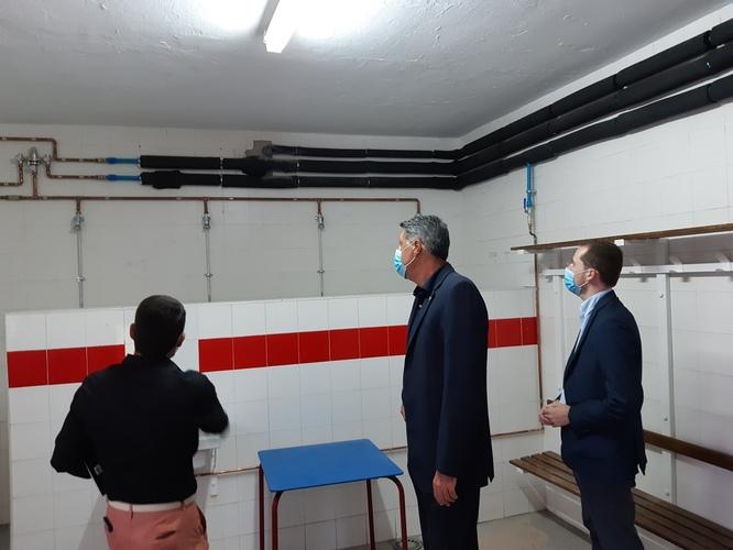 Finalitzen les obres per a la prevenció de la legionel·la en les instal·lacions de quatre camps de futbol municipals de Badalona