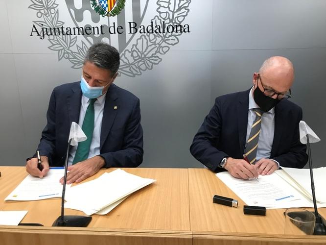 L'Ajuntament de Badalona i el RACC col·laboren per potenciar una mobilitat més segura i respectuosa