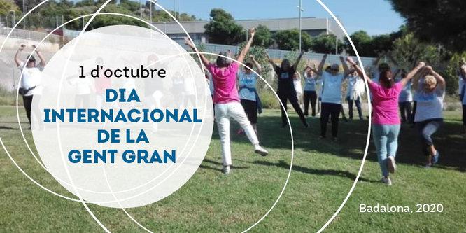 Badalona commemora demà, 1 d'octubre, el Dia Internacional de la Gent Gran