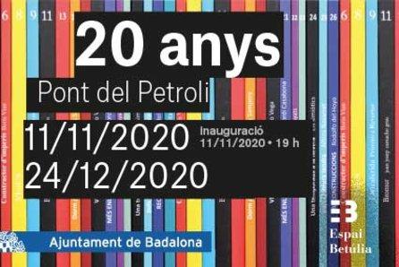 """Inauguració de l'exposició """"20 anys Pont del Petroli"""""""