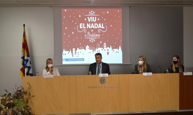 Badalona viurà un Nadal amb la ciutat més il·luminada que mai