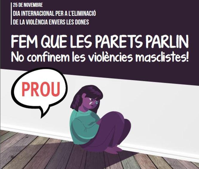 Badalona commemora avui el Dia Internacional per a l'eliminació de la violència envers les dones amb un acte de ciutat