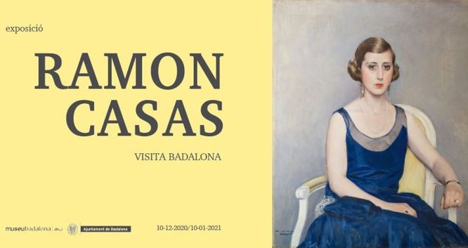 El Museu inaugura dijous l'exposició Ramon Casas visita Badalona
