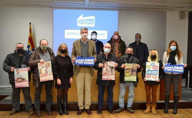 L'Ajuntament presenta la campanya 'Badalona t'ho dona' amb l'objectiu d'incentivar les compres al comerç local
