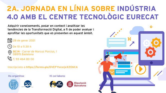 2a jornada en línia sobre Indústria 4.0 de Badalona