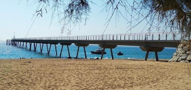 L'Ajuntament encarrega l'UPC els estudis d'onatge per al projecte de reconstrucció del pont del Petroli de Badalona