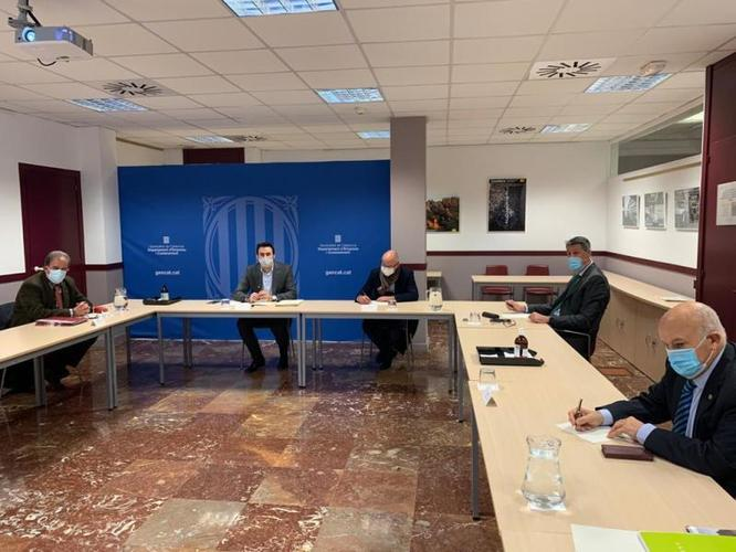 Els ajuntaments de Badalona i Sant Adrià de Besòs inicien amb la Generalitat els treballs per a la transformació de l'espai de les Tres Xemeneies