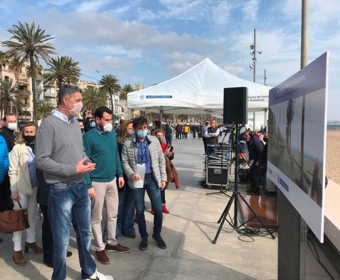 Badalona ampliarà el seu passeig Marítim en el tram comprés entre el carrer de Sant Domènec i del Torrent de Vallmajor