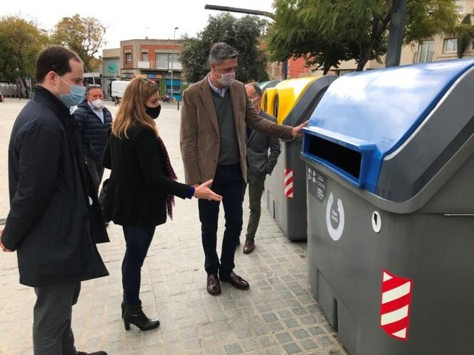 L'Ajuntament de Badalona compra 200 nous contenidors per cobrir les necessitats de tots els barris de la ciutat
