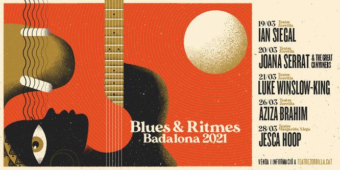 L'artista Jesca Hoop no podrà viatjar a Badalona i es cancel·la el seu concert previst per al diumenge 28 de març en el marc del Festival Blues & Ritmes