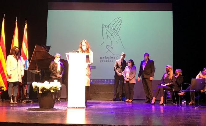Badalona ret homenatge a tots els treballadors i les treballadores essencials que han estat en primera línia en la lluita contra la COVID-19
