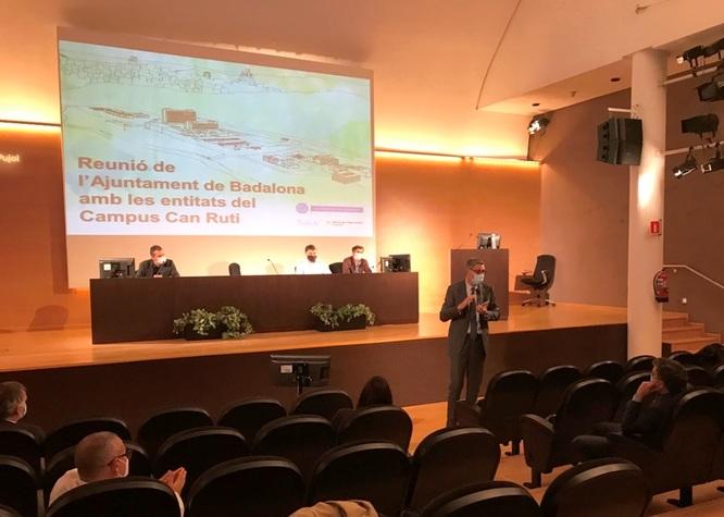 Badalona, la Generalitat i l'Hospital Universitari Germans Trias i Pujol uneixen forces per a fer realitat l'ampliació del Campus de Can Ruti i convertir-ho en un complex sanitari de referència