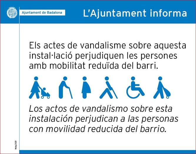 Aquest dimarts 11 de maig torna a entrar en funcionament l'ascensor del carrer d'Hipòlit Lázaro