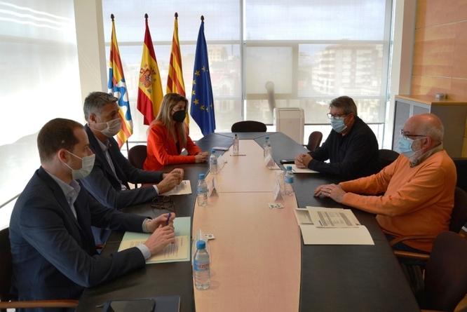 El Govern municipal presenta la proposta de pressupostos ordinaris a la Federació d'Associacions de Veïns i Comissions Obreres