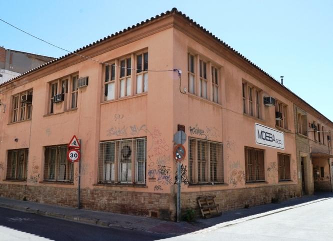 La Guàrdia Urbana de Badalona evita l'ocupació il·legal de l'antiga fàbrica de la Mobba
