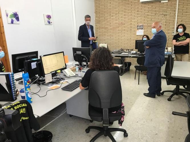 Els barris del Gorg, Can Claris, Congrés, Raval i la Mora, del Districte 5, recuperen l'oficina del Servei Bàsic d'Atenció Social (SBAS) després d'estar gairebé cinc anys tancada