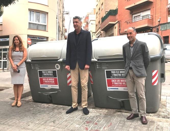 Comença la campanya per facilitar la recollida de mobles i trastos vells als carrers de Badalona