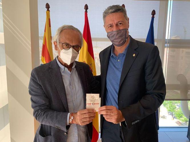 L'Ajuntament de Badalona i la Fundació Lluita contra la Sida i les Malalties Infeccioses treballaran conjuntament en la difusió de la iniciativa '#JoEmCorono'