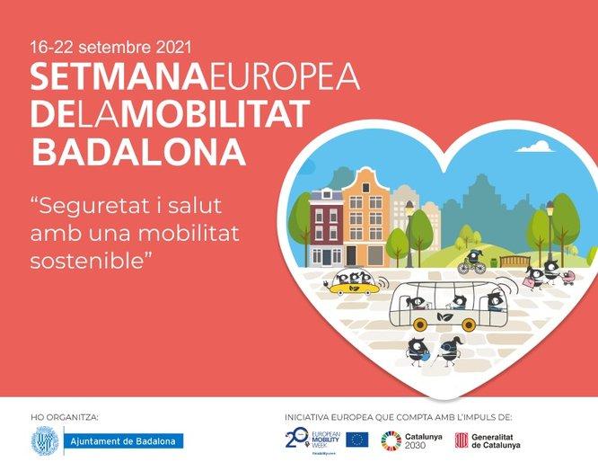 Badalona celebra el 16 al 22 de setembre la Setmana Europea de la Mobilitat per tal de promoure mitjans de transport i hàbits més sostenibles, segurs i saludables