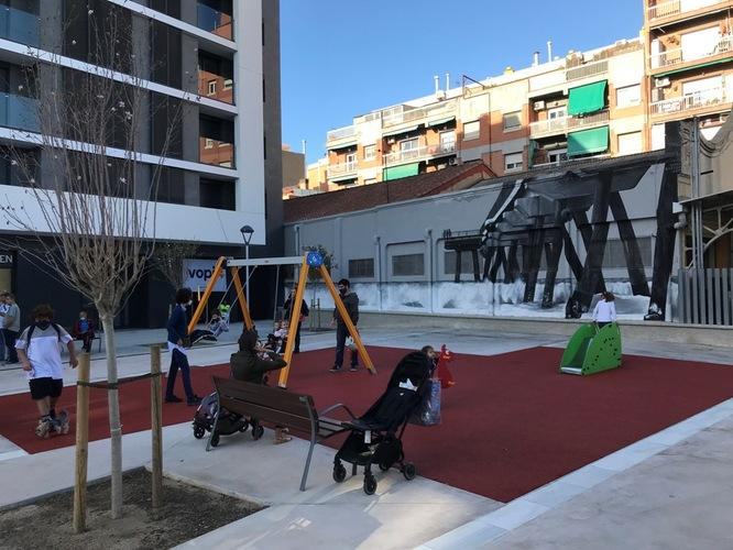 S'obre a la ciutadania la nova plaça de Josep Vergés i Vallmajor