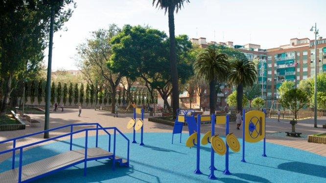 Avui dilluns 25 d'octubre comencen les obres de millora de la plaça de les Palmeres