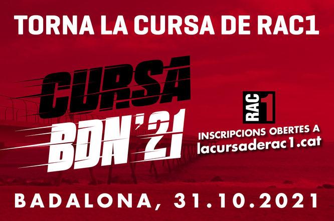 Badalona acull aquest diumenge la sisena edició de la Cursa de RAC1