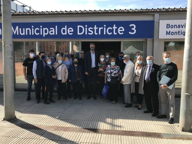 L'Oficina Municipal de Districte número 3 es trasllada al barri de Pomar
