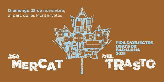 Dimarts 2 de novembre s'obrirà la preinscripció per participar en la 26a edició del Mercat del Trasto